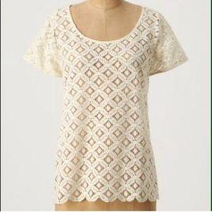 Anthropologie Wreathen blouse